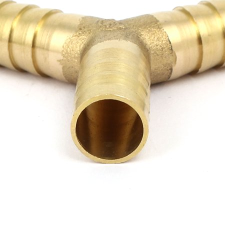 Dia. 12mm forme Y 3 voie tuyau Tuyau Raccord Tube reliant Connect 2pcs - image 2 de 2