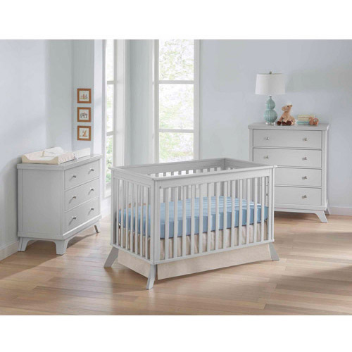 Sealy Bella 3-in-1 Convertible Crib White by Sealy