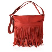 Genuine Western Fringe Crossbody