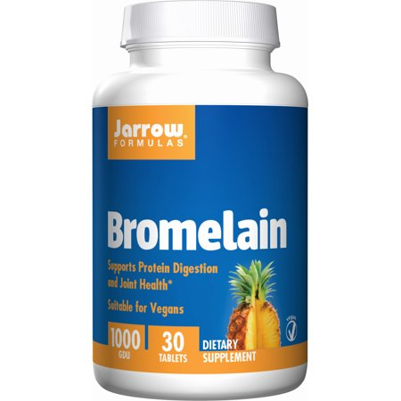 Jarrow Formulas Bromelain, Supports Protein Digestion and Joint Health, 1000 gdu, 30 Tabs 1 Joint Formula