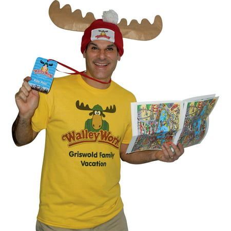 Wally World Park Fan Adult Halloween Costume (Family Park Halloween)