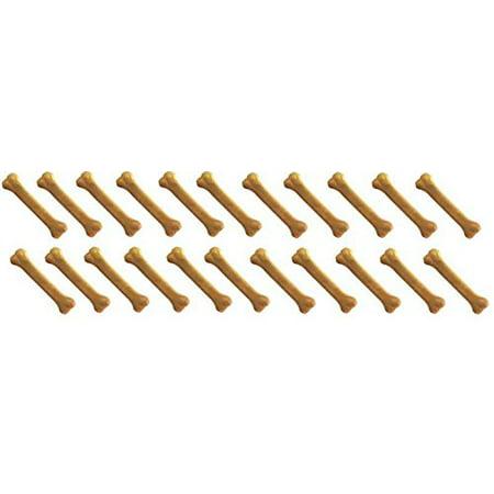 Hickory Flavor - Dog Bones 100 pcs of 4