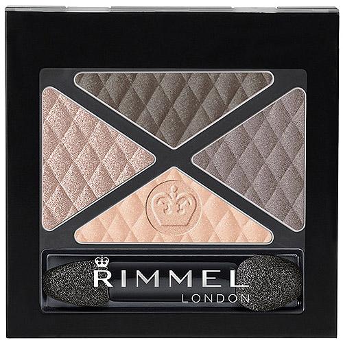 Rimmel Glam'Eyes Quad Eye Shadow, English Breakfast, 0.148 oz