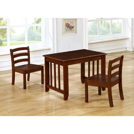 ehemco kids 2 piece rectangle table and chair set. Black Bedroom Furniture Sets. Home Design Ideas