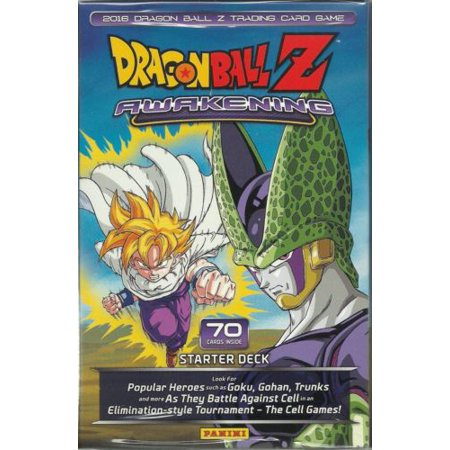 Sealed Starter Deck - Dragonball Z Awakening Starter Deck, 70 Cards