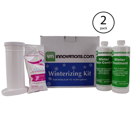 - Swimming Pool Winterizing Treatment Closing Kit - Up To 10,000 Gallons (2 Pack)