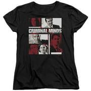 Criminal Minds - Character Boxes - Women's Short Sleeve Shirt - XX-Large