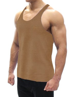 507d97e3224a4 Product Image A Men s Tank Top Tan 3X-Large. BODYSMART