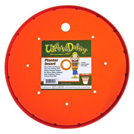 "14"" Ups-A-Daisy Planter Insert - Orange - Bloem"