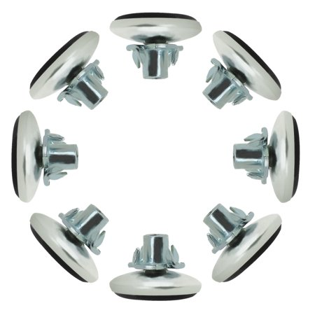 M6 x 10 x 30mm Leveling Feet Adjustable Leveler Protector for Chair Leg 8pcs - image 8 of 8