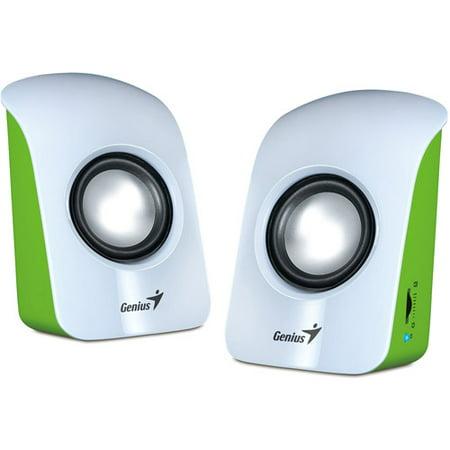 Genius SP-U115 1.5W Stereo USB-Powered 2.0 Speaker,
