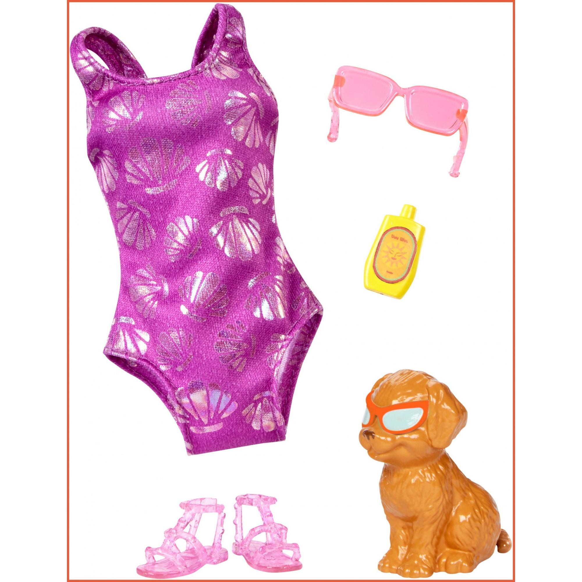 Barbie Dolphin Magic Swimsuit and Pup