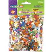 Creativity Street Glittering Confetti Bonus Bag, Assorted, 2 / Pack (Quantity)