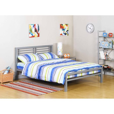Your Zone Metal Full Bed  Multiple Colors