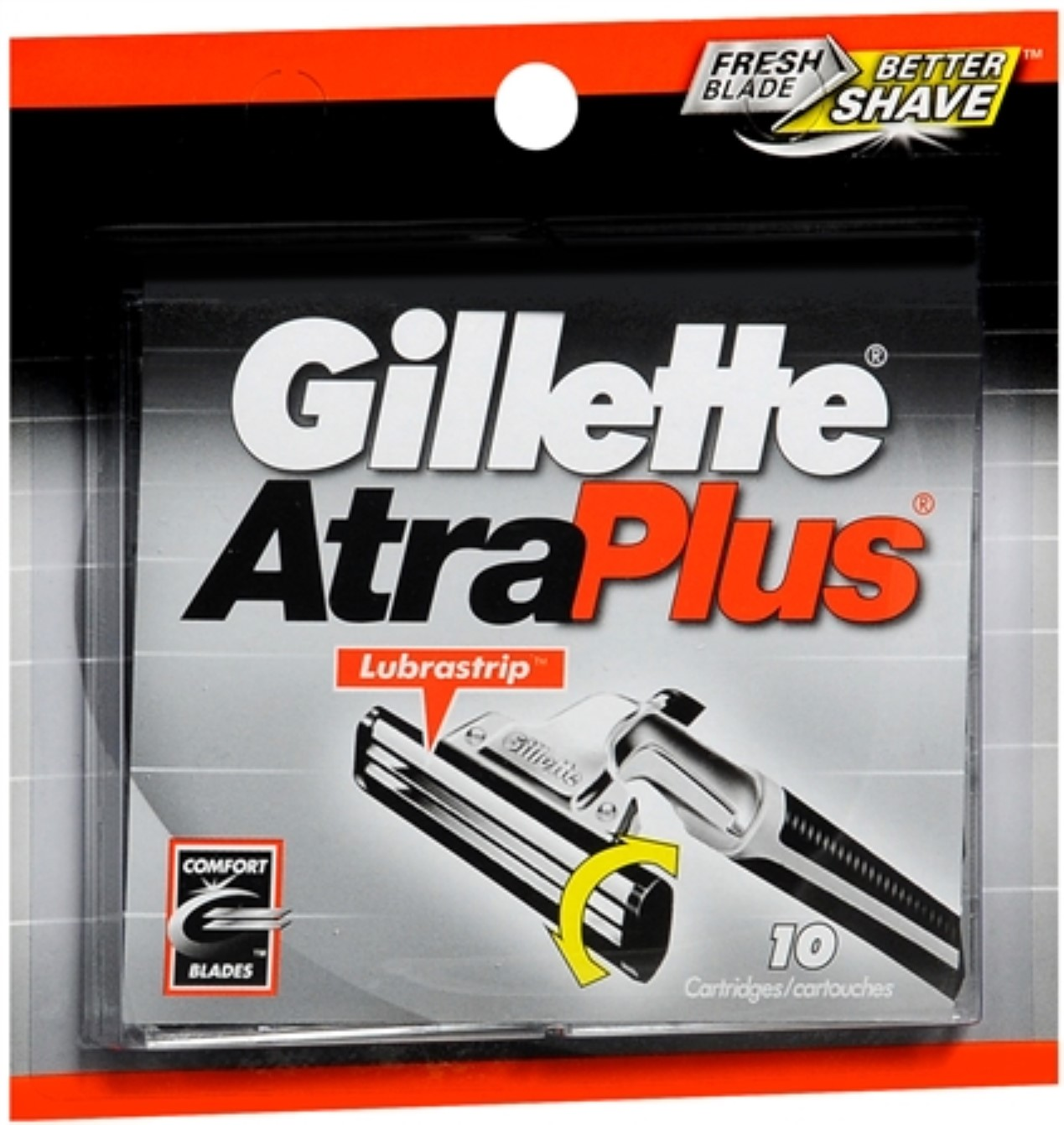 Gillette AtraPlus Cartridges 10 Each