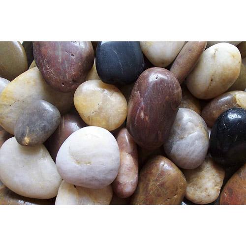 Exotic Pebbles & Aggregates 5 Lb. Mixed Polished Pebbles