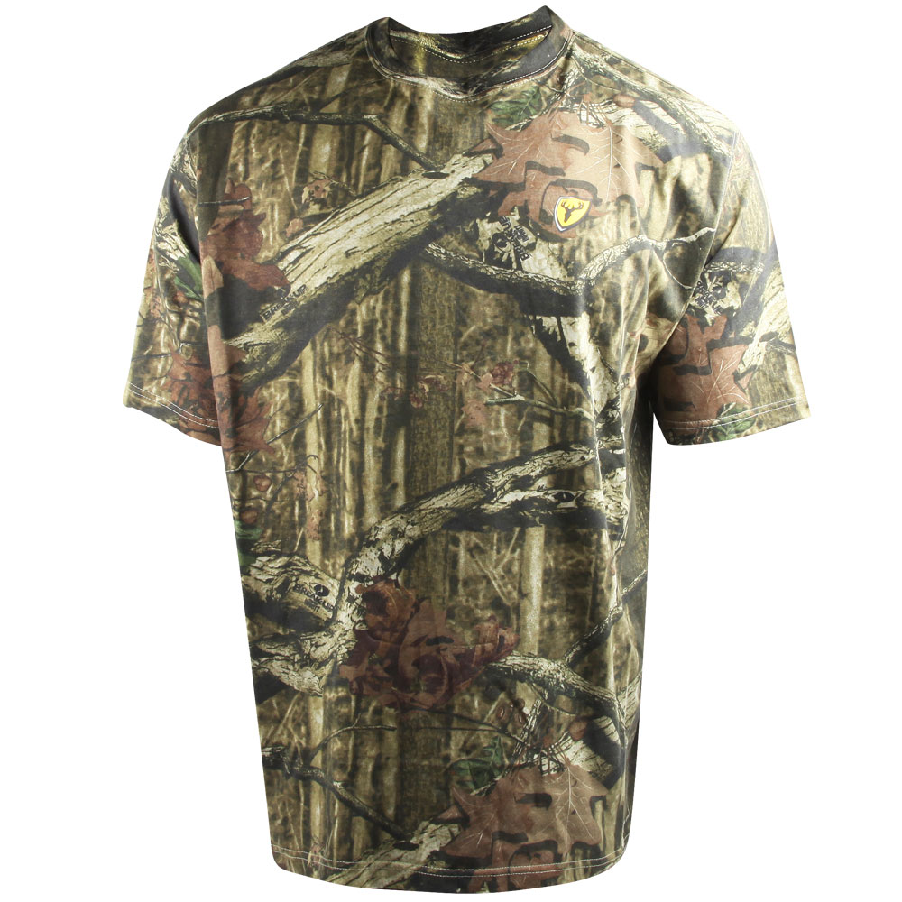 Scent Blocker Fused Cotton T-Shirt (2X)- MOINF