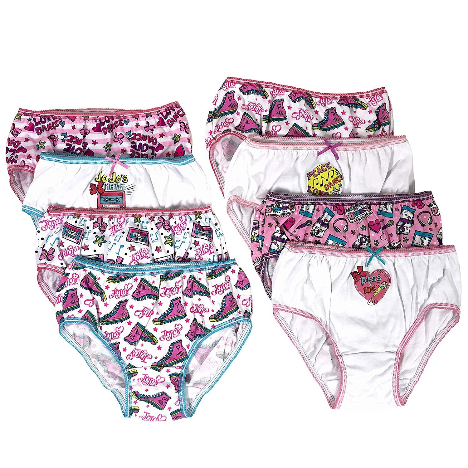 Disney Zootopia Little Girls/' 7-Pack Panties Briefs Sizes 4-6-8