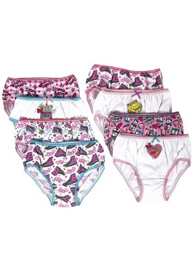 JoJo Siwa Girls Underwear, 8 Pack Briefs (Little Girls & Big Girls)