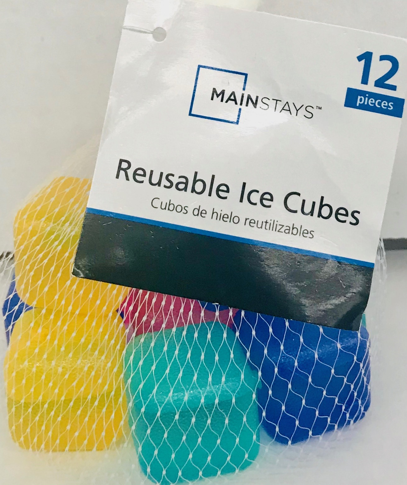Mainstays Multi Color Ice Cube Cooler