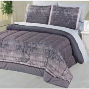 Divatex Home Fashions Brushed Ombre Microfiber Bed in a Bag Bedding Set
