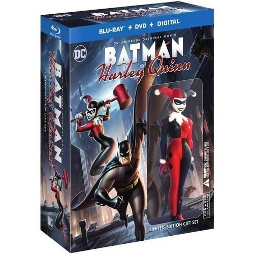 Batman and Harley Quinn (Limited Edition Gift Set) (Blu-ray + DVD) by WARNER HOME VIDEO