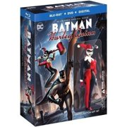 Batman and Harley Quinn (Limited Edition Gift Set) (Blu-ray + DVD) by