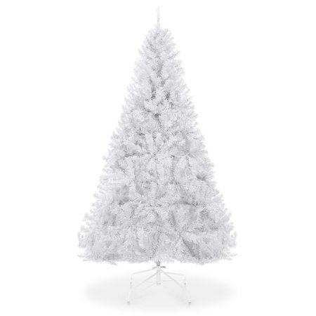 Best Choice Products 6ft Hinged Artificial Christmas Pine Tree Holiday Decoration w/ Metal Stand, 1,000 Tips, Easy Assembly,