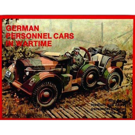 07a66f8e7f5da2 German Trucks   Cars in WWII Vol.I   Personnel Cars in Wartime - Walmart.com