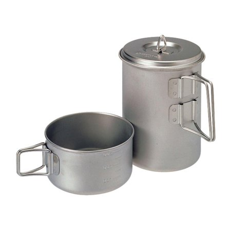 - Snow Peak Titanium Mini Solo Cook Set One Size