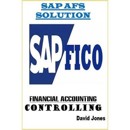 Modules Financial Accounting and Controlling In SAP AFS Solution -