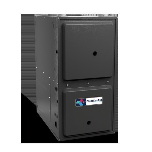 "HVAC Direct Comfort by Goodman DC-GCSS Series Gas Furnace - 96% AFUE - 80K BTU - 1 Speed - Downflow/Horizontal - 21"" Cabinet"