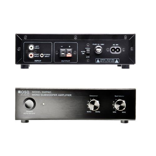 Osd Audio Smp60 Amplifier - 40 W Rms - 1 Channel - Black - 100 W Pmpo - 50 Hz To 150 Khz (smp60)