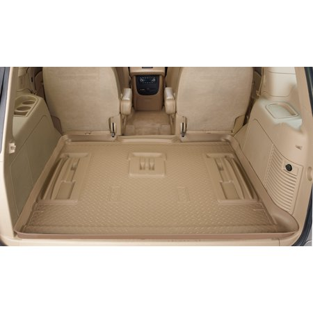 Husky Liner 23803 Cargo Area Liner Classic Style (TM) Tan; Rubber; To Back Of 2nd Seat - image 1 of 2