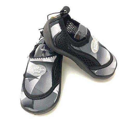 Baby Grey \u0026 Black Water Shoes (2 yrs