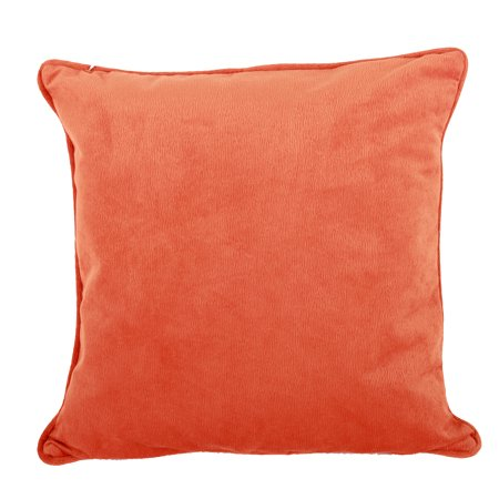 A&B Home Accent Throw Pillow, Orange, 20 by 20-Inch