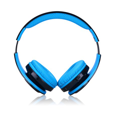 EXCELVAN Folding Wireless Bluetooth LED Stereo Headphones Classic Adjustable Headsets