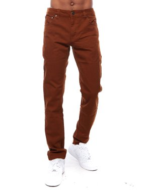 Product Image Mens Skinny Raw Hipster Hip Hop Twill Slim Cut Pants Jeans  24608 11722ec4c