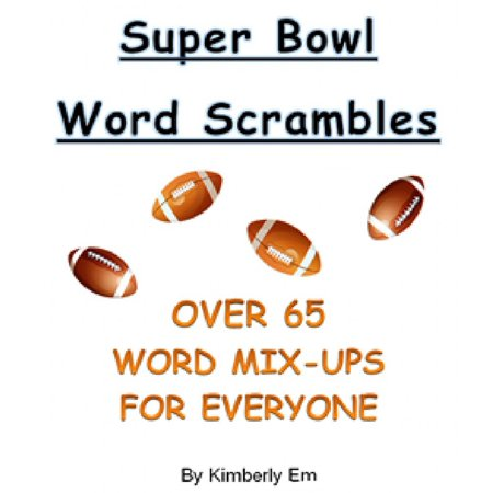 Word Scramble Game (Super Bowl Word Scrambles: The Big Game - Over 65 Word Jumble Puzzles -)