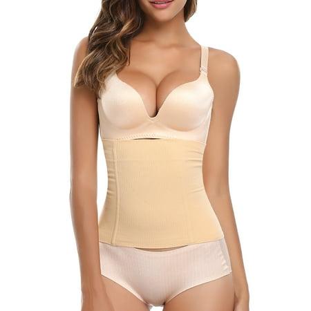 SLIMBELLE Waist Shapewear Cincher Body Shaper Corset Postpartum Belly Band Wrap C Section Tummy Control Binder Girdle for