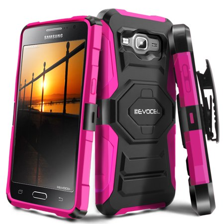 hot sale online e354e 76818 Galaxy J3 / Galaxy Amp Prime Case, Evocel [Belt Clip Holster] [Kickstand]  [Dual Layer] New Generation Phone Case for Samsung Galaxy J3 / Galaxy Amp  ...