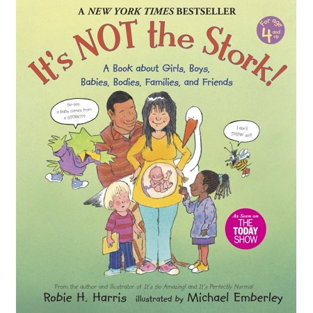 Stork Baby Paint - It's Not the Stork!: A Book about Girls, Boys, Babies, Bodies, Families and Friends (Paperback)