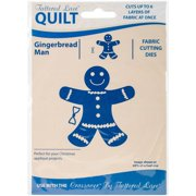 Tattered Lace Quilt Die Cut-gingerbread