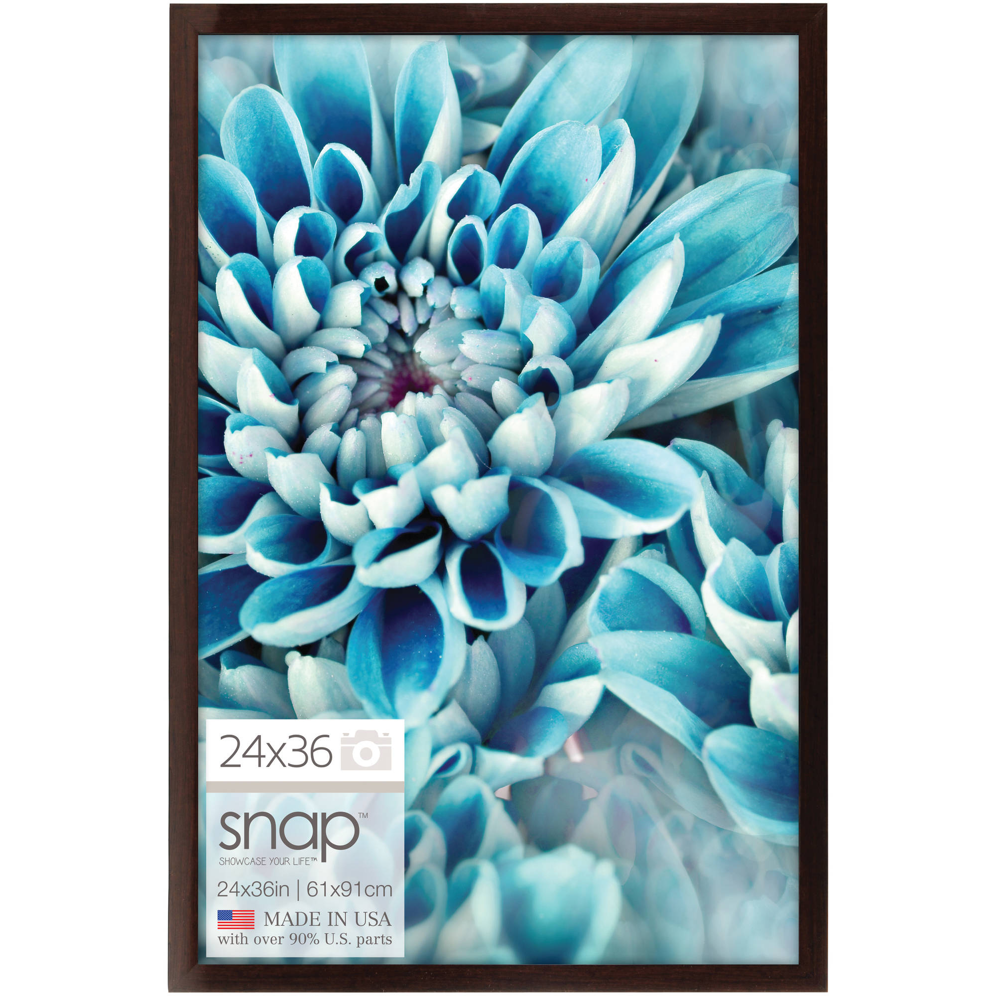 24x36 brown ashwood poster frame walmartcom