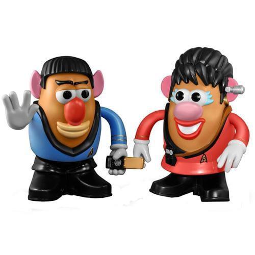 Star Trek Potato Heads Spock And Uhara MRPSTREKSU by PPW Toys