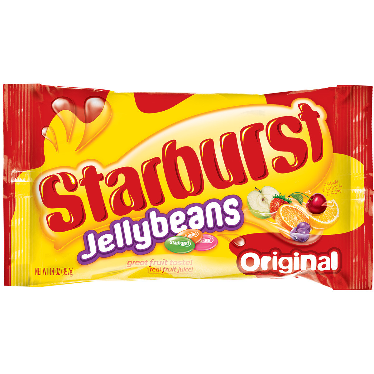 Starburst Original Jellybeans Candy Bag, 14 ounce