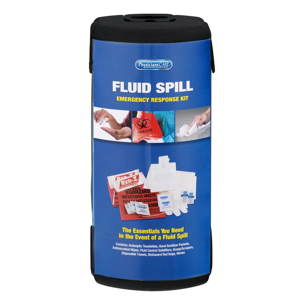 PhysiciansCare 18 Piece Fluid Spill Response Kit