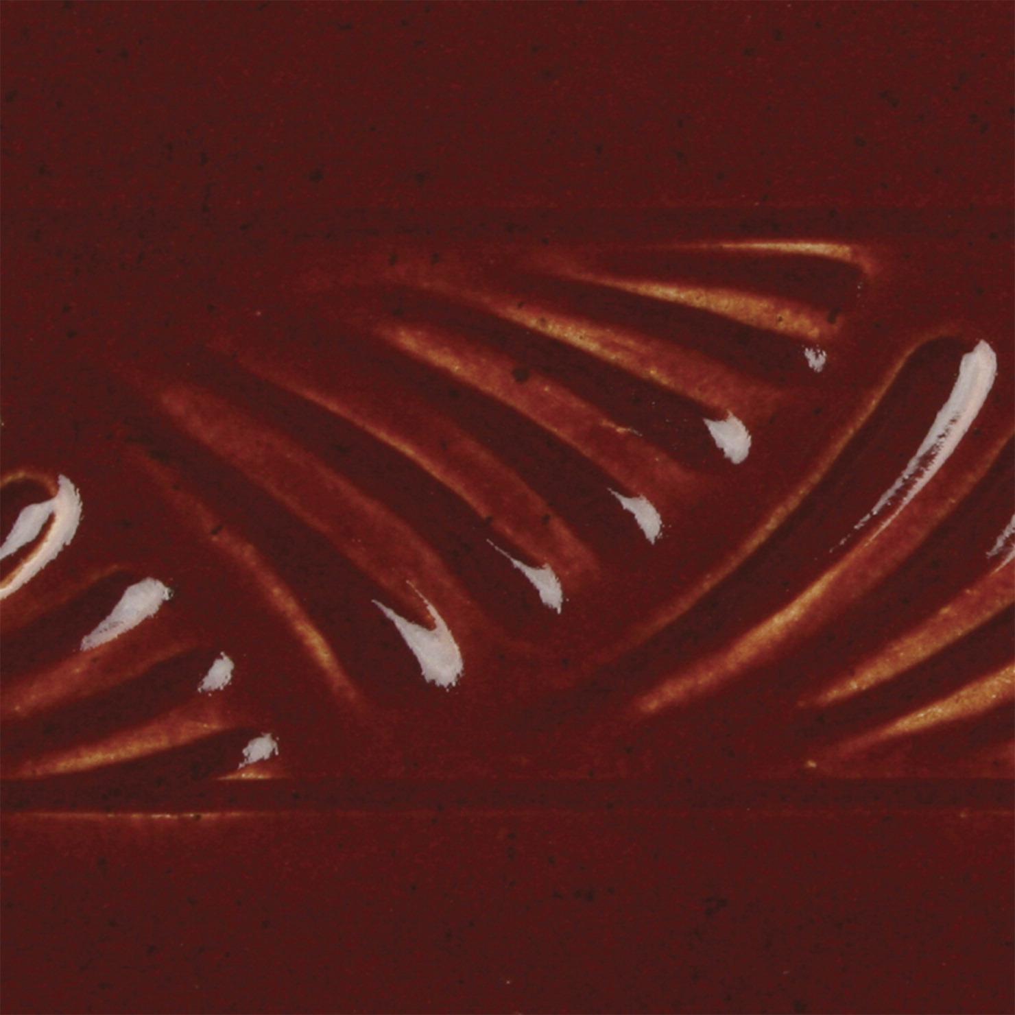 AMACO Potters Choice Lead-Free Non-Toxic Glaze, 1 pt, Deep Firebrick PC-59