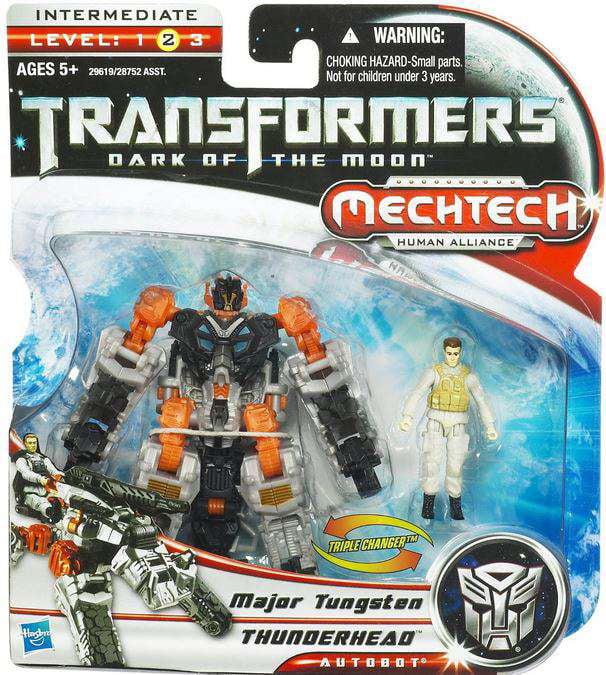Transformers Mechtech Thunderhead with Major Tungsten Action Figure Set 29619