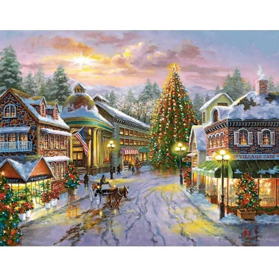 Springbok Christmas Eve 500-Piece Jigsaw Puzzle